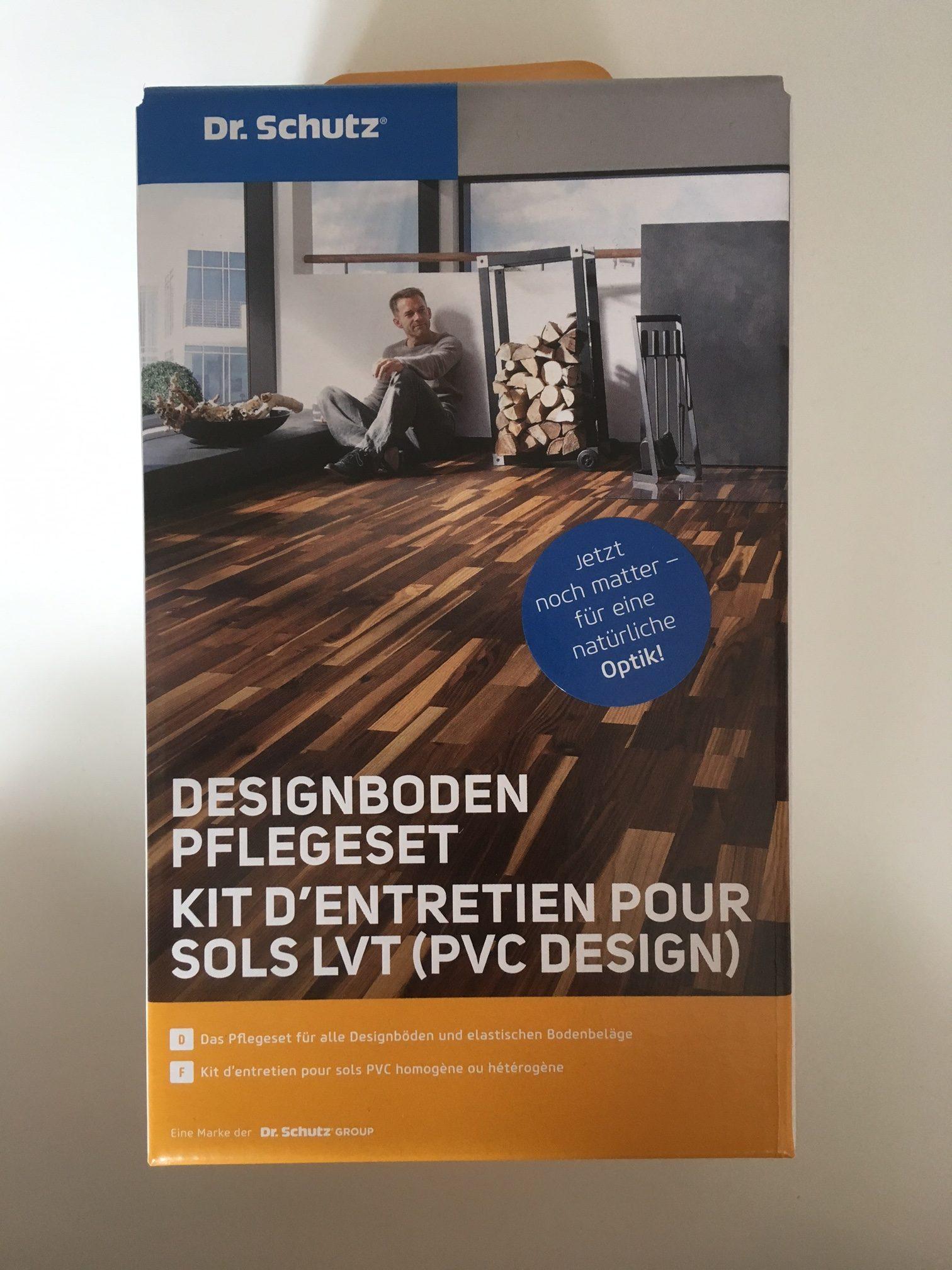 dr schutz designboden pflegeset ihr fussboden profi. Black Bedroom Furniture Sets. Home Design Ideas