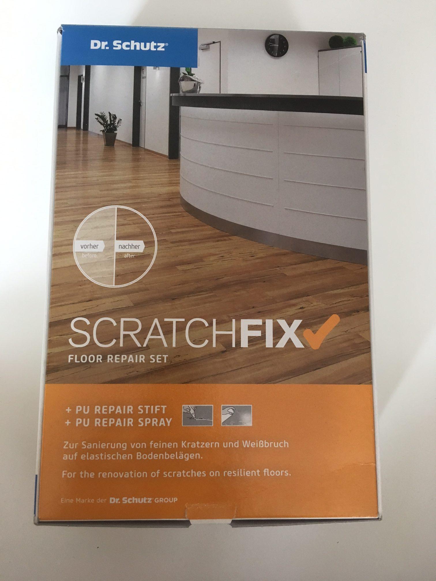 dr. schutz scratch fix-pvc-vinyl-reparatur-set | ihr - fussboden - profi